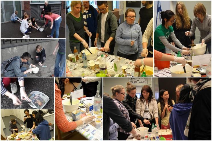 JooSoap workshop@Siivouspäivä etkot 2