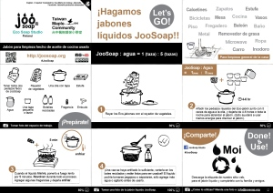 joosoap liquid soap making espanol