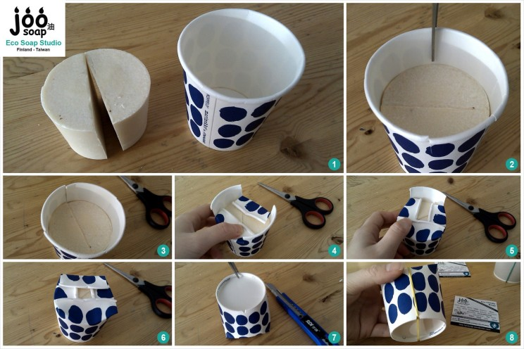 ways of packaging cup