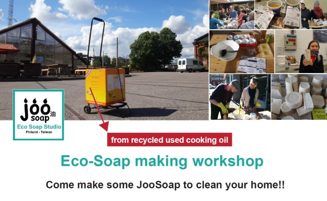 JooSoap workshop turntable