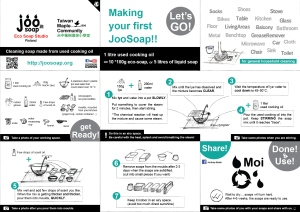 joosoap eco-soap making english